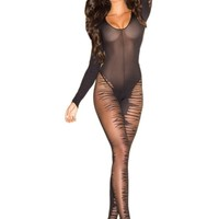 Be Wicked BWB76 Flame Bodystocking