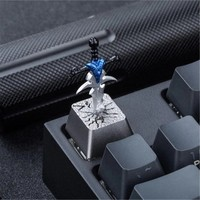 World of Warcraft wow keycaps mechanical keyboard can remove sword cherry keyboard