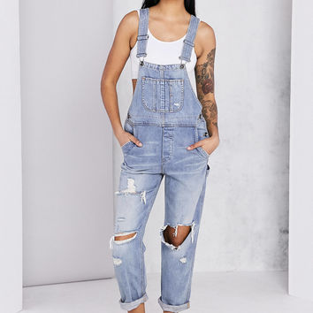 BDG Ryder Boyfriend Overall - Vintage Slash | Urban Outfitters
