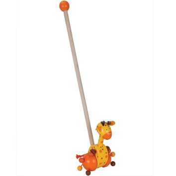 Giraffe Push Along Toy
