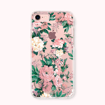 Floral iPhone 7 Case, iPhone 7 Plus Case, iPhone 6/6S Case, iPhone 6 Plus/6S Plus Case, iPhone 5/5S/SE Case, Galaxy Case - Love of Flowers
