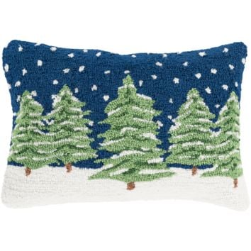 Holiday Winter Day Pillow