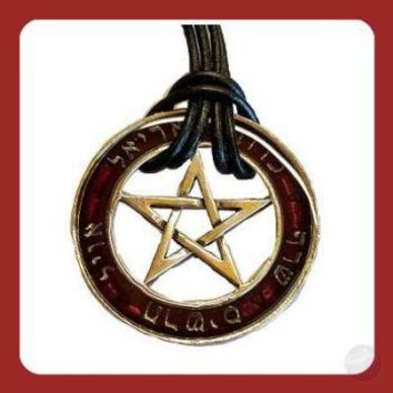 Seal of the Sephiroth Talisman Necklace