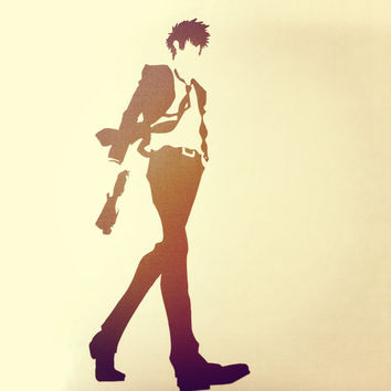 Psycho-Pass Shinya Kogami Anime Decal Vinyl Sticker