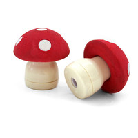 Mushroom Sharpener and Eraser