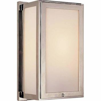 Visual Comfort and Company TOB2003PN Polished Nickel Mercer Box Light