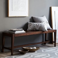 Degraw Bench from West Elm