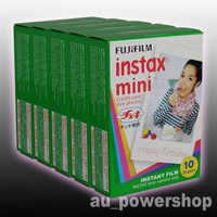 100 Film / 10 Packs for Fujifilm Instax Mini 7s 8 25 50s 70 90 Camera Fuji SP-1