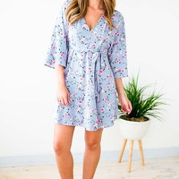 Molly Floral and Stripe Dress