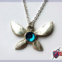 Zelda Navi Necklace - Real Silver