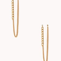 Underground Multi-Chain Drop Earrings
