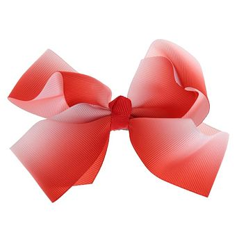 Lovely Designs Boutique Big Hair Bows Alligator Clip Grosgrain Ribbon Bow knot Clip For Girl