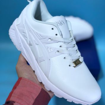 KUYOU Asics Gelkayno Leather Ratro Sport Sneaker White