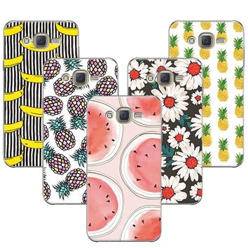 For Samsung Galaxy J7 Neo J701F/DS Fruit Painted Banana Minions Soft Cat Coque For Samsung J7 Core J7 Nxt J701F J701M Case Cover