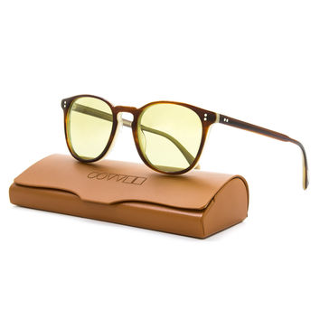 Oliver Peoples Finley Esq 402 Sunglasses w/ Green Photochromic Lenses