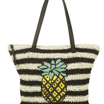 Pineapple Pattern Summer Fashion Style Lovely Women Gift - bags = 4697510020