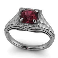 The Red Dragon Ring Blood Ruby