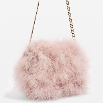Riga Marabou Cross Body Bag