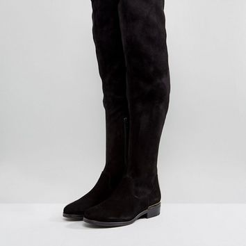 Dune Taiya Over The Knee Boots at asos.com
