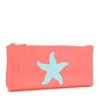 LoloBag - Manning Clutch - Blue Starfish