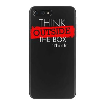 think outside the box thinker iPhone 7 Plus Case