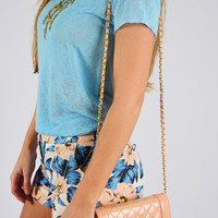 Sweet Obsession Clutch: Peach