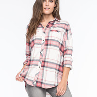 FULL TILT Womens Extreme Fit Flannel Shirt | Outdoor Wanderlust