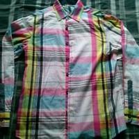 NWT Mens L/S Collar Button Down Dress Casual Shirt by Rocawear size Small