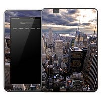 Sunset Skyline Skin for the Amazon Kindle