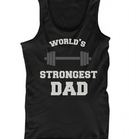 365 In Love World's Strongest Dad Tank Top - Father's Day Gift Idea