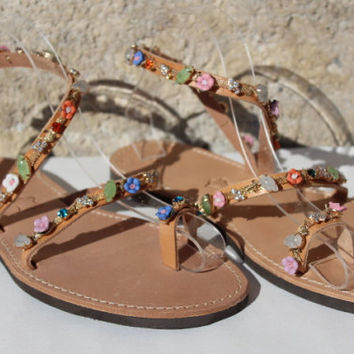 Beach wedding, destination wedding, outdoor wedding,  Wedding Shoes, Sandals with Crystal, Destination Beach Wedding sandals