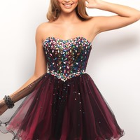 Homecoming dresses by Blush Prom Homecoming Style 9535