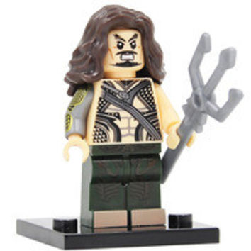 Builder Block Minifigure Batman vs Superman Aquaman