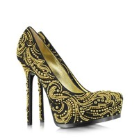 Philipp Plein  Designer Shoes High Heel Orient Platform Pump
