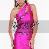 Sheath Strapless Mini-length Sequins Occasion Dress SSC0200