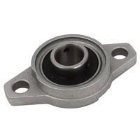 FL001 Zinc Alloy 12mm Bore Self Aligning Pillow Block Bearing Flange