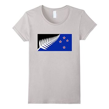 Previously proposed national flag for NZ tee