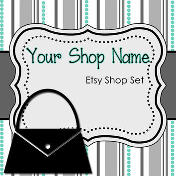 Etsy Banner and Avatar Set for Your Store