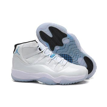 Air Jordan 11 Space Jam cool grey XI men basketball shoes cheap 918a94593e