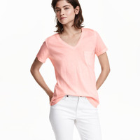 Over-dyed Top - from H&M