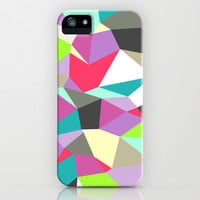 Geomesh 02 iPhone & iPod Case by Katy Clemmans