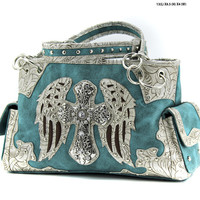 Western Wing & Cross Purse