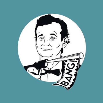 Bill Murray Adult Tee Shirt