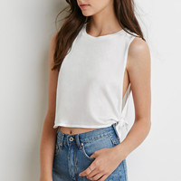 Side-Knot Muscle Tee