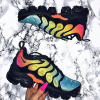shosouvenir Nike Air Vapormax Plus Triple White Running Sneakers Sport Shoes