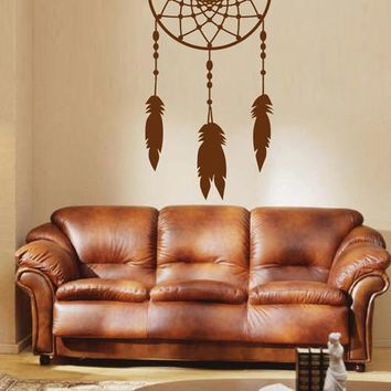 ik1630 Wall Decal Sticker Dreamcatcher Dreams American Native Ethnic