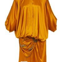 Draped Silk Dress | Moda Operandi