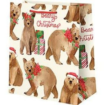 Beary Christmas Medium Bag