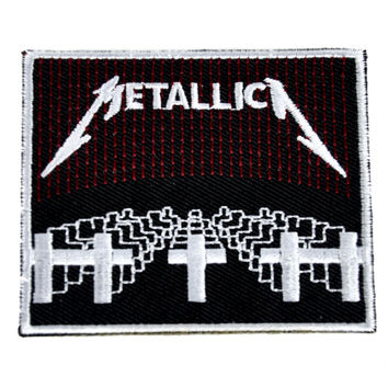 Metallica Patch Iron on Applique Master of Puppets