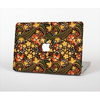 The Colorful Floral Pattern with Strawberries Skin Set for the Apple MacBook Air 13""